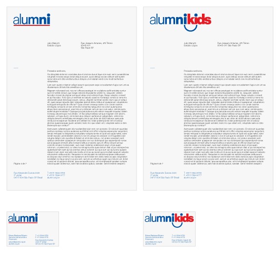 estudio_logos_alumni-papelaria - estúdio lógos design gráfico - julio mariutti